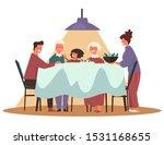 thanksgiving or christmas... | Shutterstock .eps vector #1531168655