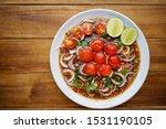 Thai Food  Spicy  Salad Yum ...
