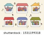 there are various family... | Shutterstock .eps vector #1531199318