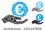 euro salary mosaic of abrupt... | Shutterstock .eps vector #1531247858