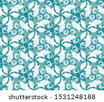 floral vector ornament.... | Shutterstock .eps vector #1531248188