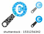 euro audit mosaic of unequal... | Shutterstock .eps vector #1531256342