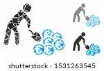 person mining euro mosaic of... | Shutterstock .eps vector #1531263545