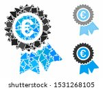 euro warranty mosaic of... | Shutterstock .eps vector #1531268105