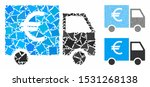 euro truck composition of humpy ... | Shutterstock .eps vector #1531268138