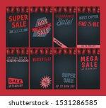 set of banner for story | Shutterstock .eps vector #1531286585
