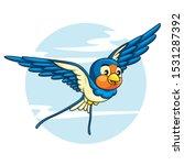 illustration of cute cartoon...   Shutterstock .eps vector #1531287392
