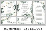 vector floral template for...   Shutterstock .eps vector #1531317035