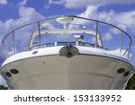 A Large White Boat Shot Of The...