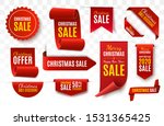 christmas sale tags collection. ...   Shutterstock .eps vector #1531365425