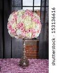 image of a floral arrangement... | Shutterstock . vector #153136616