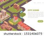 banner city isometric web site...