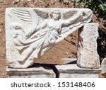 sculpture of the goddess nike... | Shutterstock . vector #153148406