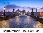 Historic Charles Bridge In...