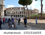 Rome  Tourists Heading To The...