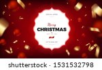 merry christmas red background  ... | Shutterstock .eps vector #1531532798