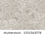 winter background with pine... | Shutterstock .eps vector #1531563578