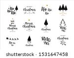 merry christmas. happy new year ... | Shutterstock .eps vector #1531647458