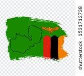 flag zambia from brush strokes...   Shutterstock .eps vector #1531712738