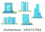 hotel building vector icons of... | Shutterstock .eps vector #1531717562