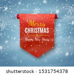 merry christmas label isolated. ... | Shutterstock .eps vector #1531754378
