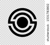 circle lens icon isolated on a... | Shutterstock .eps vector #1531783802