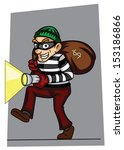 thief | Shutterstock .eps vector #153186866