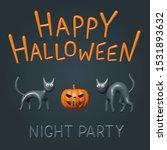 happy halloween   vector... | Shutterstock .eps vector #1531893632
