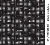 abstract grunge grid polka dot...   Shutterstock .eps vector #1531923332