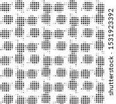 abstract grunge grid polka dot...   Shutterstock .eps vector #1531923392