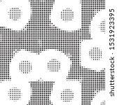 abstract grunge grid polka dot...   Shutterstock .eps vector #1531923395