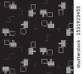 abstract grunge grid polka dot...   Shutterstock .eps vector #1531923455