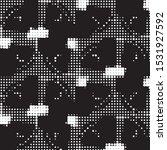 abstract grunge grid polka dot...   Shutterstock .eps vector #1531927592