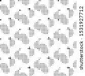 abstract grunge grid polka dot...   Shutterstock .eps vector #1531927712