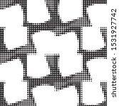 abstract grunge grid polka dot...   Shutterstock .eps vector #1531927742