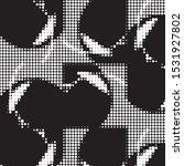abstract grunge grid polka dot...   Shutterstock .eps vector #1531927802