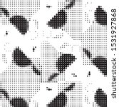 abstract grunge grid polka dot...   Shutterstock .eps vector #1531927868
