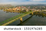 A scenic byway feeds tourists into the downtown area in the settlement called Marietta in Ohio State