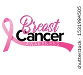 breast cancer awareness month... | Shutterstock .eps vector #1531984505