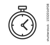 simple isolated stopwatch icon  ...