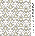 seamless vector pattern in... | Shutterstock .eps vector #1532025848