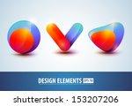 Vector Glossy Design Element...