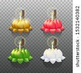 loy krathong thailand festival. ... | Shutterstock .eps vector #1532140382