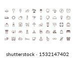travel icon set design  trip... | Shutterstock .eps vector #1532147402
