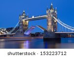 Tower Bridge Opens To Let A...