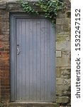 Quaint Old Gateway Or Doorway...