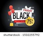 black friday promotion banner....   Shutterstock .eps vector #1532255792