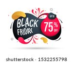 black friday promotion banner....   Shutterstock .eps vector #1532255798