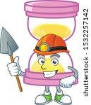 miner icon sandglass in the... | Shutterstock .eps vector #1532257142