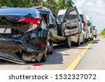 Heavy Accident  Modern Car...